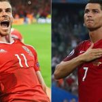 Portugal vs Wales: Real Madrid stars CR7 and Bale face off