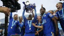 Champions Leicester City