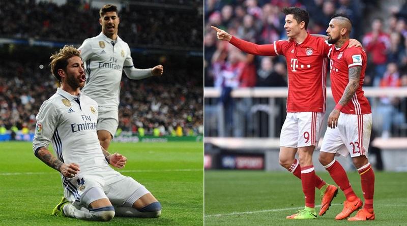 Real v Bayern