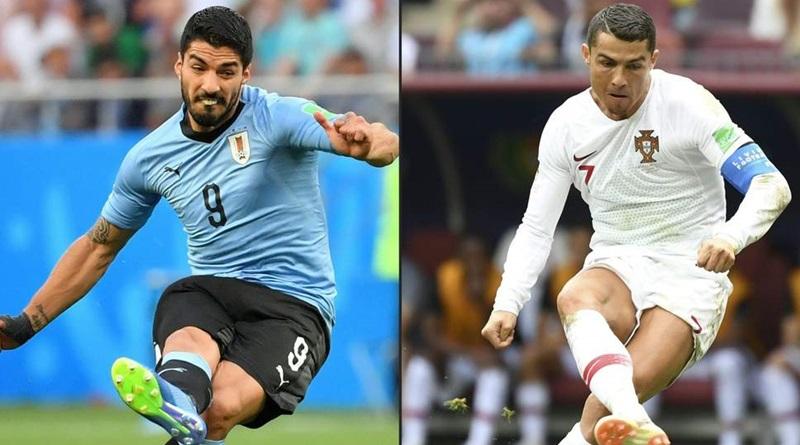 Uruguay vs Portugal: Cristiano Ronaldo takes on Uruguay's tough defense * Topsoccer
